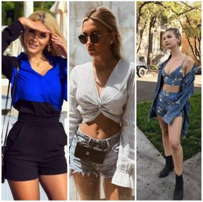 Vera mbërriti, bashkë me të edhe pantallonat e shkurtra. Modelet më të bukura i gjeni tek vajzat e njohura shqiptare