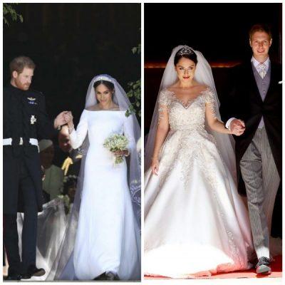 U magjepsëm nga fjalët që Harry i tha Meghan në altar? Shihni reagimin e Princ Lekës kur pa Elian me fustanin e bardhë