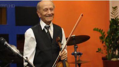Mjeshtri më i vjetër i violinës e thotë me gojën e tij: Nuk kam asnjë peng dhe ja përse