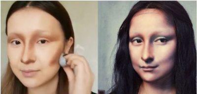 FOTOJA e një gruaje si Mona Lisa po bën xhiron e botës