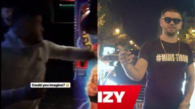 """E keni provuar ndonjëherë """"Matësen e forcës së grushtit""""… Sapo e provoi Noizy dhe e """"theu"""" fare (VIDEO)"""