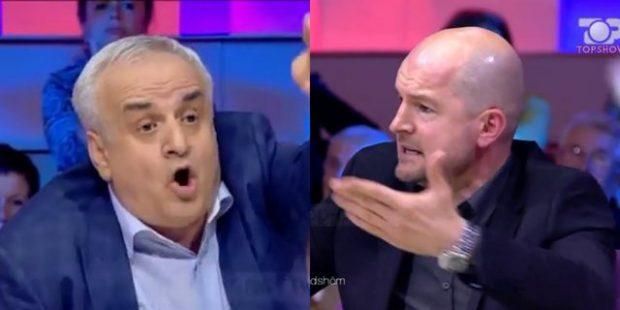 """""""Je GOMAR, po ik dil në pension mos na çaj t*apin""""/ Plas SHERRI LIVE në emision (VIDEO)"""