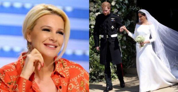 Rudina ndjek me vajzën dasmën mbretërore, reagimi i Mias do t'jua ëmbëlsojë ditën (VIDEO)