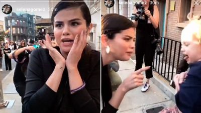 Vajza e vogël vendos Selena Gomez në pozitë të vështirë, këngëtarja s'di çfarë të bëjë (VIDEO)