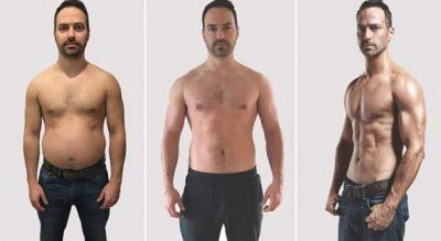 Transformimi i 38-vjeçarit, që për tetë javë shndërroi masën yndyrorë në muskuj (FOTO)