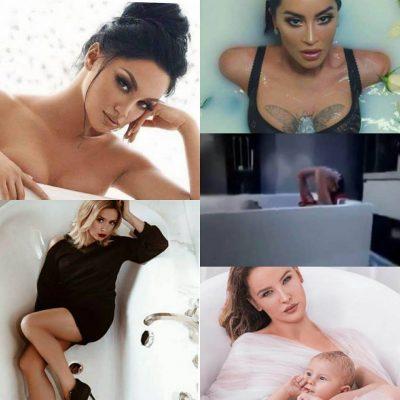 Joshëse dhe seksi! Nga Alketa tek Soni, bukuroshet shqiptare që kanë bërë FOTO në vaskë