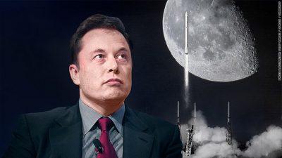 """""""SpaceX"""" kishte premtuar të dërgonte turistë të pasur në Hënë brenda… 2018-ës"""