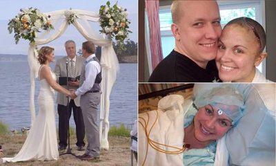 PREKËSE/ Gruaja e sëmurë me kancer suprizon bashkëshortin me dasmë (VIDEO)
