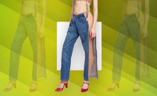 Një tjetër trend i çmendur! A do të guxoje t'i vishje këto xhinse? (FOTO)