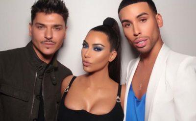 Grimieri i Kim Kardashian i bën këtë dhuratë këngëtares shqiptare (FOTO)