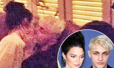 Kendall Jenner kapet mat duke u puthur me vëllain e Bella dhe Gigi Hadid (FOTO)