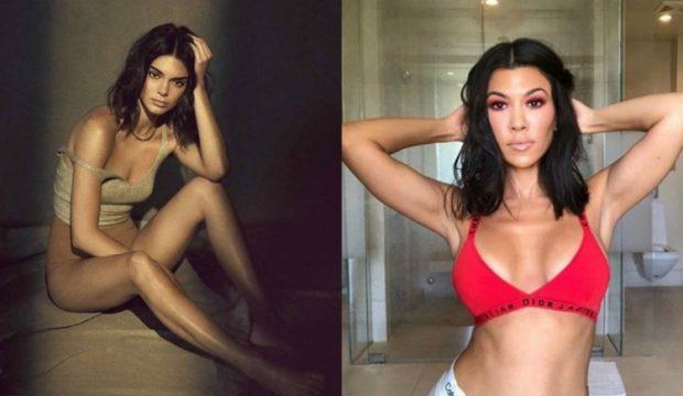 """Kur """"tërbohen"""" yjet e showbizz-it! Kourtney Kardashian i dredh të pasmet para fytyrës, Kendall Jenner i vendos dorën në..(FOTO)"""
