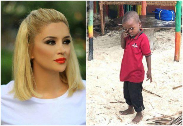 Pas FOTOS së fëmijës afrikan, gazetarja SULMON Alketa Vejsiun: Dhembshuria jote, është hipokrizi…