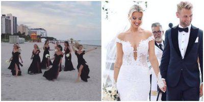 """""""Tërbohen"""" modelet në dasmën e Afërditës, bëjnë """"twerking"""" përpara të gjithëve"""