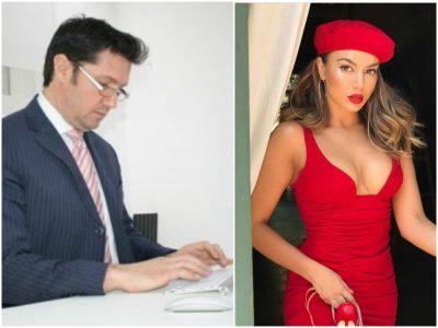 """Elvana shfaqet e veshur me të kuqe, """"Doktori i Vipave"""" e ngacmon para të gjithëve: Moj belhollë… (FOTO)"""