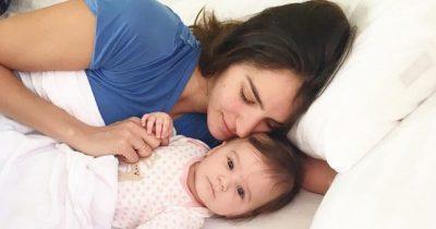 Vogëlushja e Eminës bën 2 muajshe dhe ajo ka vetëm një lutje për të: Dua shumë që… (FOTO)
