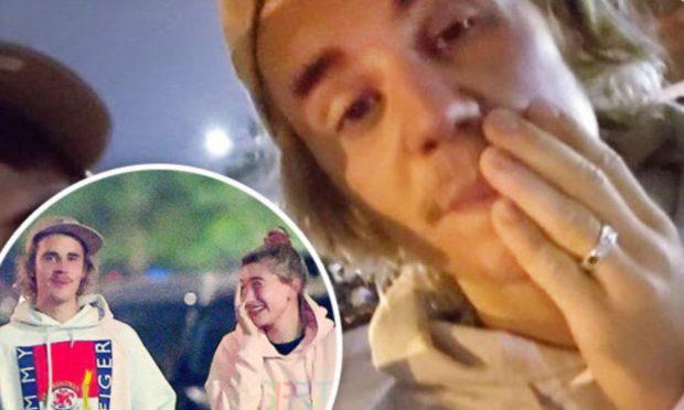 Martohet Justin Biber?! Unaza në gishtin e tij ÇMENDI fansat (FOTO)