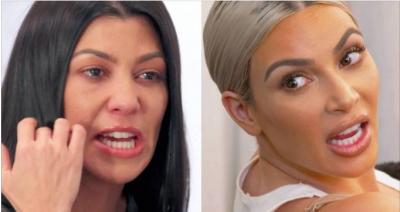 """""""Mu hiq sysh!"""" Kim i bërtet Kourtney-t pasi kjo e fundit nuk do të jetë më një Kardashian!"""