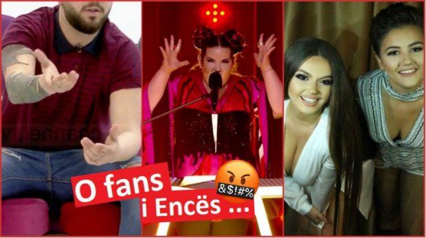 """Krahasoi Encën me """"pulën"""" që fitoi Eurovizionin, mikesha e saj i kthehet këngëtarit: Topolak, më dëgjo pak… (FOTO)"""
