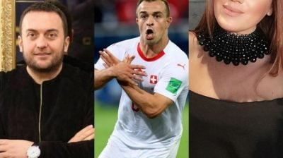 SHQIPONJA e Shaqirit pas ndeshjes me Serbinë/ Olti Curri gjen origjinën e lashtë të këtij gjesti dhe ''ngacmon''… (FOTO)