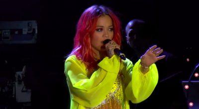 LIVE/ Rita Ora ngjitet në skenë, elektrizon publikun shqiptar… (FOTO)
