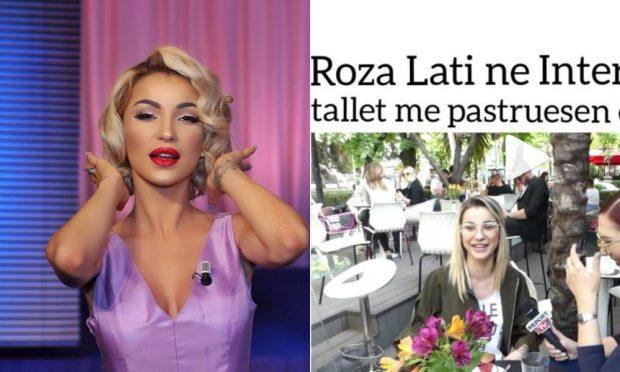 SHPËRTHEN Roza Lati: T'ju vijë TURP që më vini në diskutim mirësjelljen, anën time më… (FOTO)
