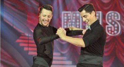 """Spektakël i vërtetë në """"DWTS""""/ Graciano dhe Dion lënë partneret dhe kërcejnë bashkë një tango!"""