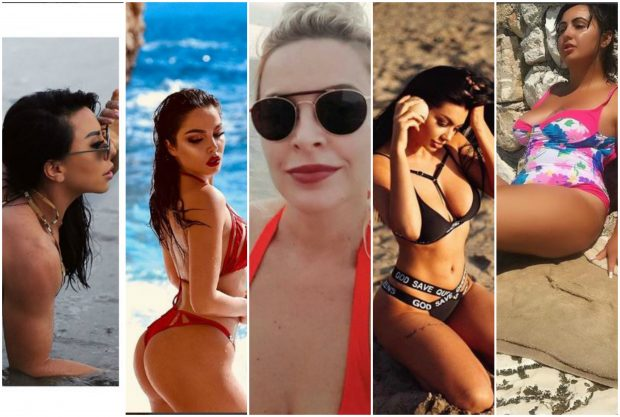 Me make-up në plazh! Njihuni me VIP-et shqiptare që e marin NDRYSHE vitaminën D (FOTO)