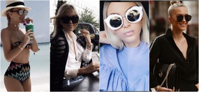 """Nëse jeni në """"dilemë"""", ja shtatë modelet e syzeve që duhet të mbani sipas Lori Hoxhës! (FOTO)"""