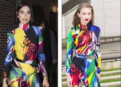 FRYMËZOHET NGA MODELJA GIGI HADID/ Dua Lipa në New York me një veshje si të modeles (FOTO)