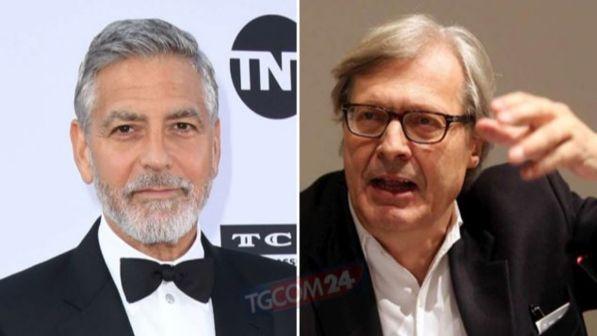 """Vittorio Sgarbi shfryn ndaj George Clooney: """"MA KE LËNË PIS QYTETIN TIM"""""""