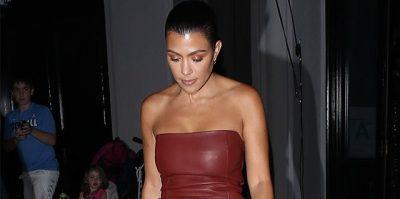 SEKSI DHE PROVOKUESE/ Kourtney Kardashian sapo riktheu bustin tub (FOTO)