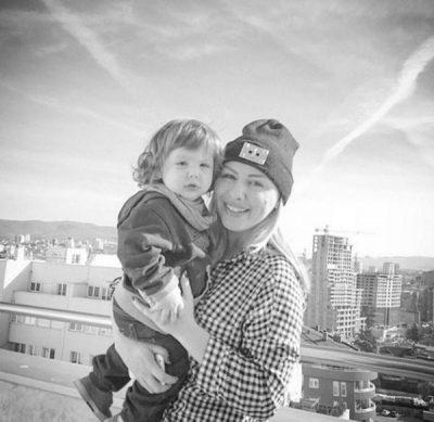 """KËTË HERË ME FAKTE/ Vesa Luma i vërteton bashkëshortit se i biri është """"kopja"""" e saj (FOTO)"""