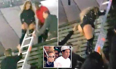 Incidenti epik në skenë! Beyonce mbetet e varur në shkallë derisa dikush e shpëtoi