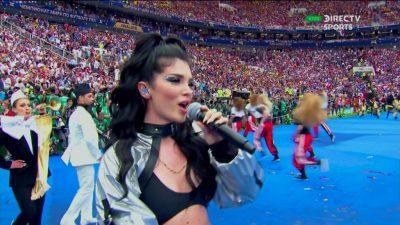 PO NDODH/ Ndiqni LIVE performancën e Era Istrefit në FINALEN e Botërorit (VIDEO)