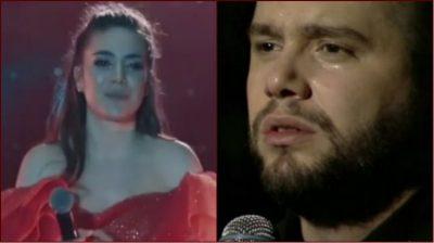 Fansat janë të bindur se Elvana Gjata u përlot në koncert për Flori Mumajesin, ja ARSYEJA!