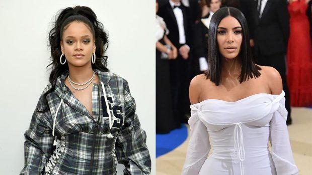 KOPJON RIHANËN/ Kim kardashian bën të njëjtin model flokësh (FOTO)