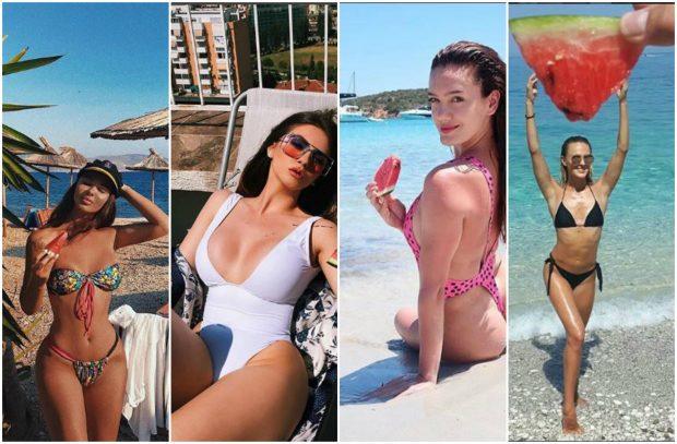 Të famshmet shqiptare e kanë gjetur idenë e FOTOS së verës! Me rroba plazhi dhe… SHALQI!