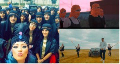 """DETAJI i përbashkët në klipet e verës së këngëtarëve, nga veshja si """"militantët e ISIS"""" deri tek… (VIDEO)"""