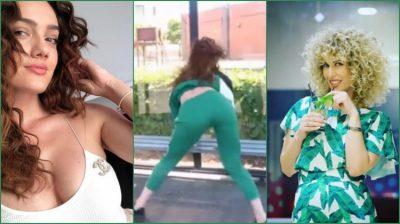 """Klaudia Pepa """"tërbon"""" kalimtarët me kërcimin e saj seksi në rrugë, por shikoni komentin EPIK të Fatmës (FOTO)"""