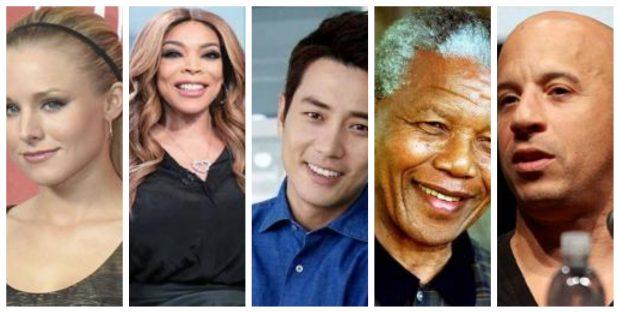 DITËLINDJET E 18 KORRIKUT/ Kush lindi sot për tu kujtuar gjithë jetën, nga Vin Diesel deri tek Mandela… (FOTO)