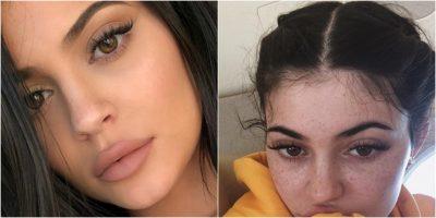 Mendoni se Kylie Jenner ka fytyrë ëngjëllore? Ky imazh do t'ju bëjë të zhgënjeheni tej mase… (FOTO)
