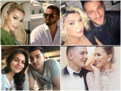 """Ja kush janë çiftet shqiptare që nuk po e """"NDAJNË MENDJEN"""" a janë bashkë apo jo! Nga Çiljeta dhe Albani deri tek…"""