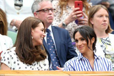 Meghan dhe Kate/ Dy kunatat bashkë për herë të parë në publik pa bashkëshortët dhe duken si… (FOTO)