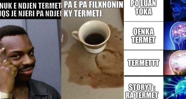 Tërmeti trondit shqiptarët, por meme-t po na vdesin së qeshuri! (FOTO)