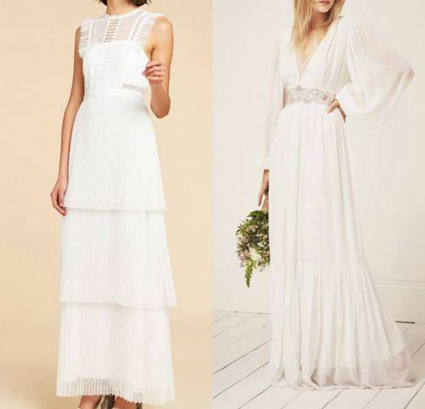 Nuk je nuse tradicionale? Ja si mund të jetë fustani jot i bardhë ndryshe nga nuset klasike …