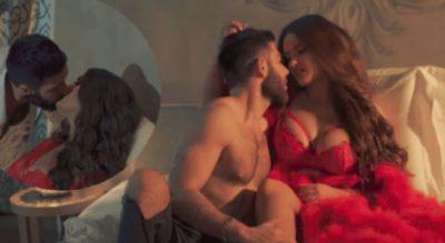 E pabesueshme! Modelit në klipin e Encës i publikohen momente intime me një mashkull
