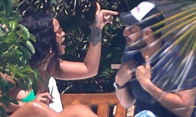 Rihanna e tensionuar me Hassan Jameel gjatë pushimeve në Meksikë (FOTO)