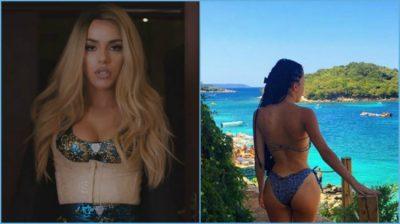 """Tayna publikon foton seksi nga plazhi, fansat """"e fëlliqin"""" me detajin që kapin: Pse mi me syze…"""