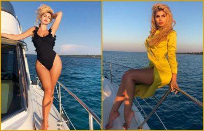 U mahnitët nga veshja me ngjyrë të verdhë e Luana Vjollcës? Ja sa ka kushtuar… (FOTO)